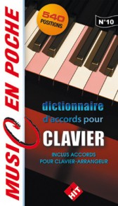 ACCORDS POUR CLAVIER MUSIC EN POCHE