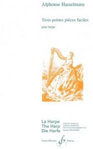 HASSELMANS A. PETITES PIECES FACILES HARPE