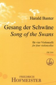 BANTER H. SONG OF THE SWANS VIOLONCELLES