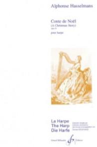 HASSELMANS A. CONTE DE NOEL OP 33 HARPE