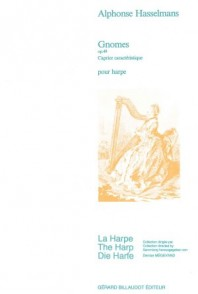 HASSELMANS A. GNOMES, CAPRICE CARACTERISTIQUE OP 49 HARPE
