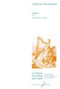 HASSELMANS A. GITANA, CAPRICE POUR HARPE OP 21 HARPE