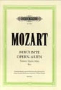 MOZART W.A. AIRS CELEBRES D OPERA POUR BASSES CHANT PIANO