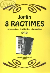 JOPLIN S. 8 RAGTIMES ACCORDEON