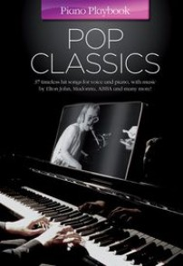 PIANO PLAYBOOK POP CLASSICS PVG