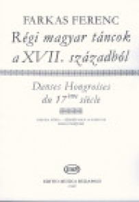 FARKAS F. DANSES HONGROISES ANCIENNES 17ME HARPE