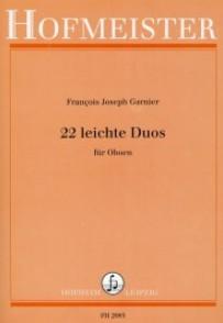 GARNIER F.J. LEITCHE DUOS HAUTBOIS