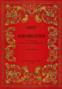 LISZT F. ALBUMBLATTER PIANO