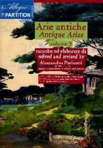 PARISOTTI A. ARIE ANTICHE VOL 3 CHANT PIANO