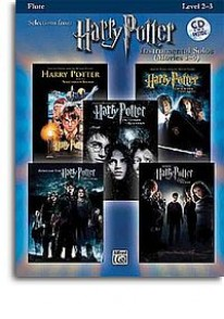 POTTER HARRY SELECTIONS INSTRUMENTAL SOLOS MOVIES 1-5 FLUTE