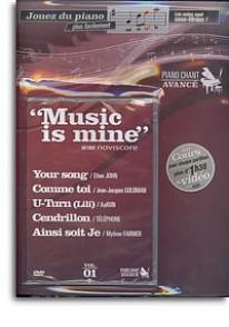 MUSIC IS MINE JOUEZ DU PIANO: METHODE DE PIANO CHANT AVANCE