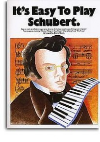 SCHUBERT F. IT'S EASY TO PLAY  PIANO