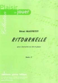 MAUPETIT R. RITOURNELLE CLARINETTE