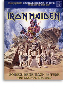 IRON MAIDEN SOMEWHERE BACK IN TIME GUITARE