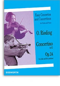 RIEDING O. CONCERTINO OP 24 SOL MAJEUR VIOLON