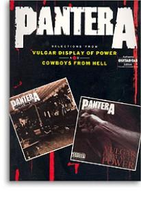 PANTERA VULGAR DISPLAY O POWER COWBOYS FROM HELL GUITARE