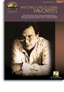 PIANO PLAY ALONG VOL 84 JOBIM A.C. FAVORITES