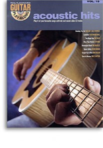ACCOUSTIC HITS GUITAR PLAY ALONG VOL 10