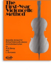BENOY A.W./BURROWES L. THE FIRST-YEAR VIOLONCELLO METHOD