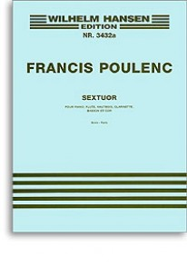 POULENC F. SEXTUOR SCORE PARTIES