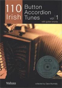 110 IRISH BUTTON ACCORDEON TUNES VOL 1
