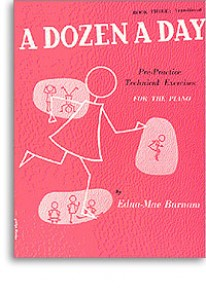 BURNAM E.M. A DOZEN A DAY VOL 3 PIANO