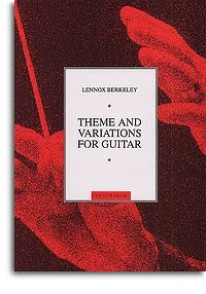BERKELEY L. THEME VARIATIONS GUITARE
