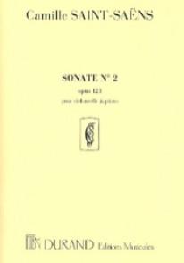 SAINT-SAENS C. SONATE N°2 OP 123 VIOLONCELLE
