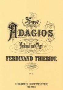 THIERROT F. ADAGIOS OP 41 VIOLONCELLE