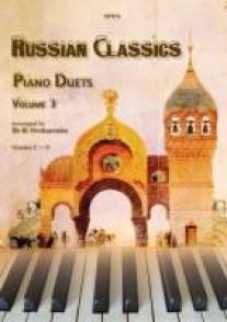 RUSSIAN CLASSICS PIANO DUETS VOL 3