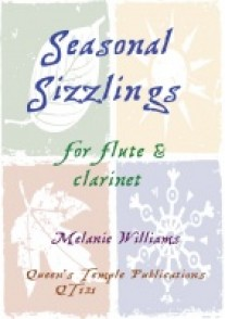 WILLIAMS M. SEASONAL SIZZLINGS FLUTE CLARINETTE