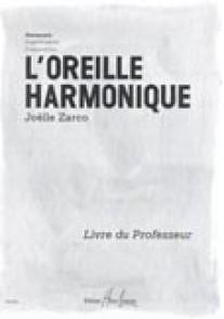 ZARCO J. L'OREILLE HARMONIQUE  VOL 1: HARMONIE PROFESSEUR