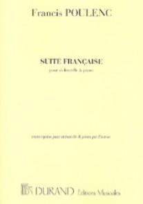 POULENC F. SUITE FRANCAISE VIOLONCELLE