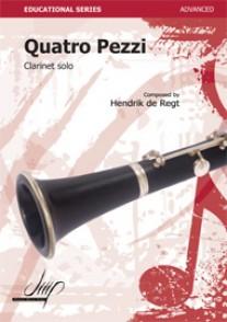 DE REGH H. QUATTRO PEZZI CLARINETTE BASSE