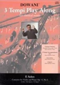 SEITZ F. CONCERTO OP 13 VIOLON + CD