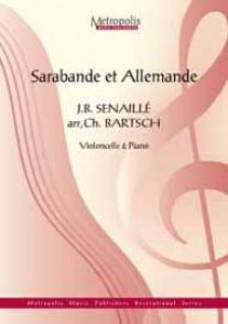 SENAILLE J.B. SARABANDE ET ALLEMANDE VIOLONCELLE