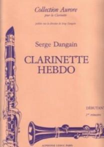 DANGAIN S. CLARINETTE HEBDO