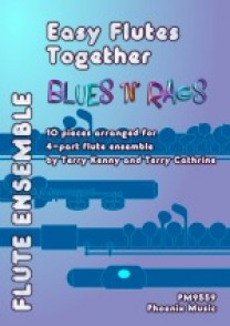 EASY FLUTES TOGETHER MUSIC FROM BLUES N RAGS