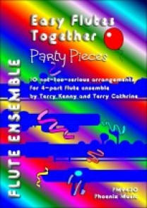 EASY FLUTES TOGETHER MUSIC FROM PARTY PIECES