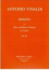 VIVALDI A. SONATA RV 28 HAUTBOIS