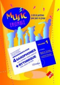 MUSIC ENSEMBLE VOL 1 SAXOPHONES
