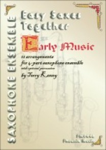 EASY SAXES TOGETHER: EARLY MUSIC