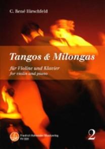 HIRSCHFELD C.R. TANGOS ET MILONGAS VOL 2 VIOLON