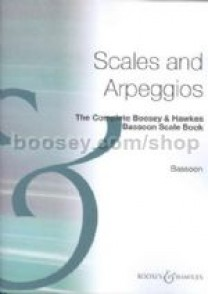 THE COMPLETE BOOSEY HAWKES SCALES AND ARPEGGIOS BASSON
