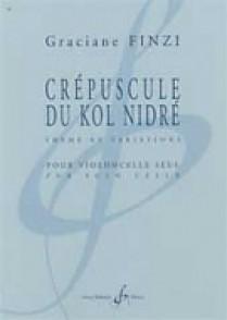 FINZI G. CREPUSCULE DU KOL NIDRE VIOLONCELLE