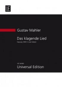 MAHLER G. DAS KLAGENDE LIED CONDUCTEUR