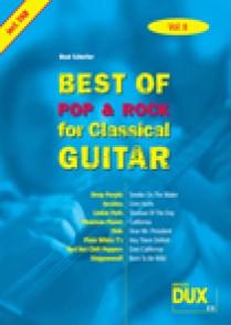 BEST OF POP & ROCK FOR CLASSICAL GUITAR VOL 8