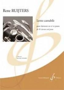 RUIJTERS R. LENTO CANTABILE CLARINETTE