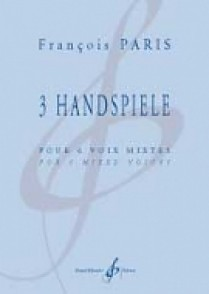 PARIS F. 3 HANDSPIELE VOIX MIXTES