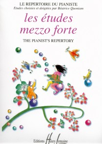 ETUDES MEZZO FORTE PIANO